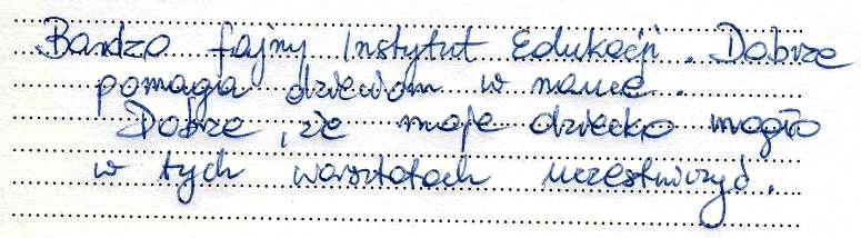 Opinia z grupy Oleśnica 3
