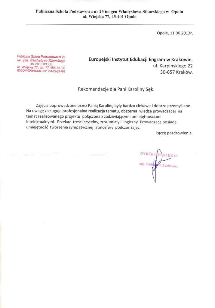 Publiczna Szkoła Podstawowa nr 25 w Opolu