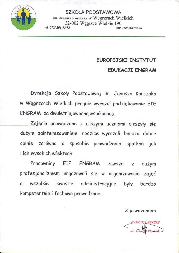 Szkoła Podstawowa w Węgrzcach Wielkich