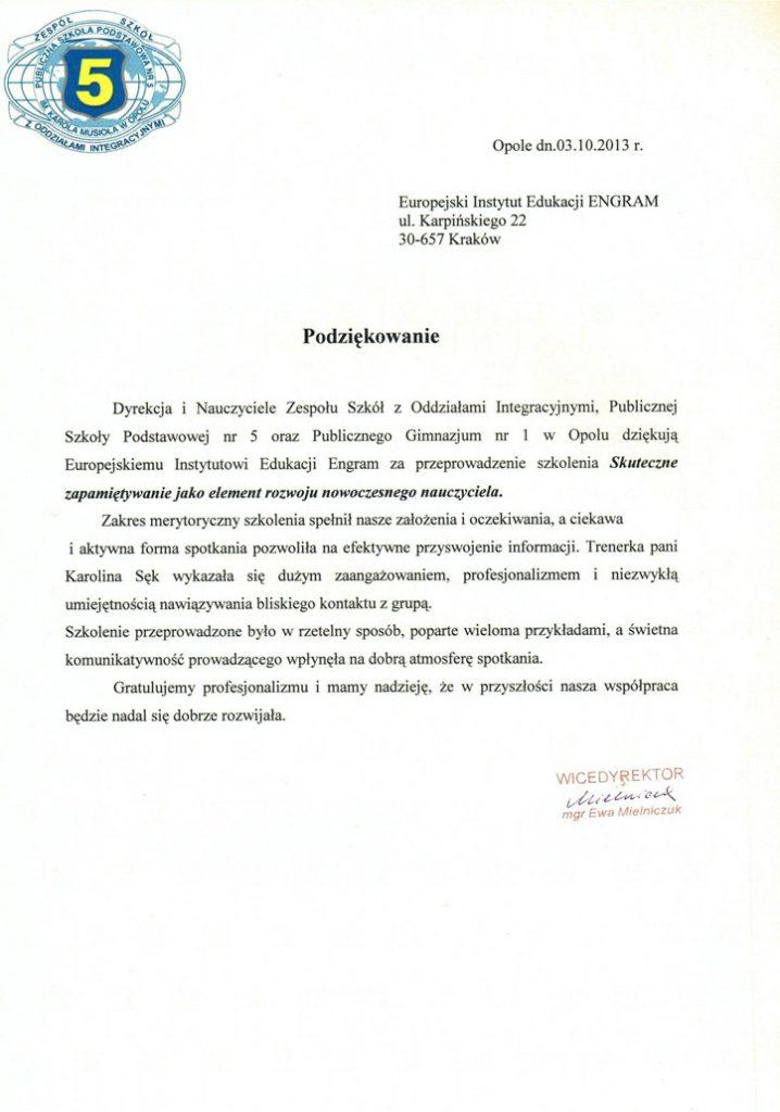 Publiczna Szkoła Podstawowa nr 5 w Opolu