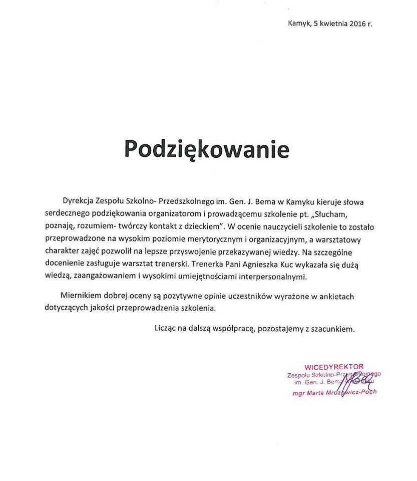 Zespół Szkolno-Przedszkolny w Kamyku (2)