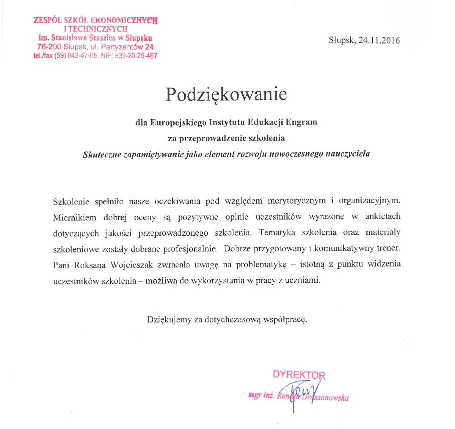 Zespół Szkół w Słupsku