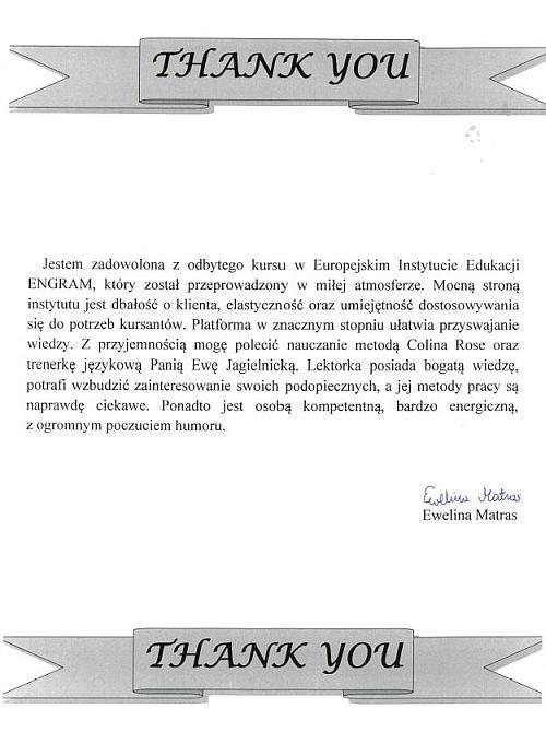 Ewelina Matras