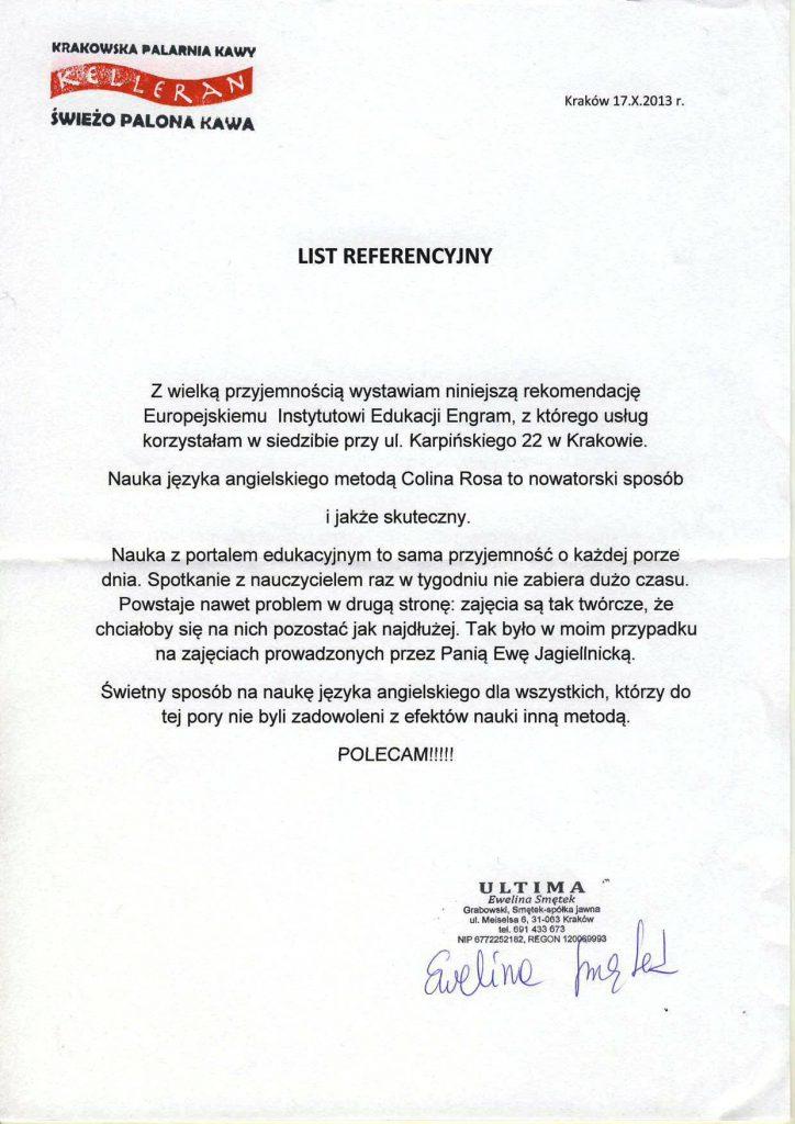 Ewelina Smętek – Kelleran Coffee Company