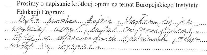 Opinia dziecka z grupy Lublin 49 (3)
